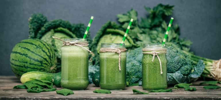 Los batidos verdes: una forma sencilla de tomar más frutas y verduras