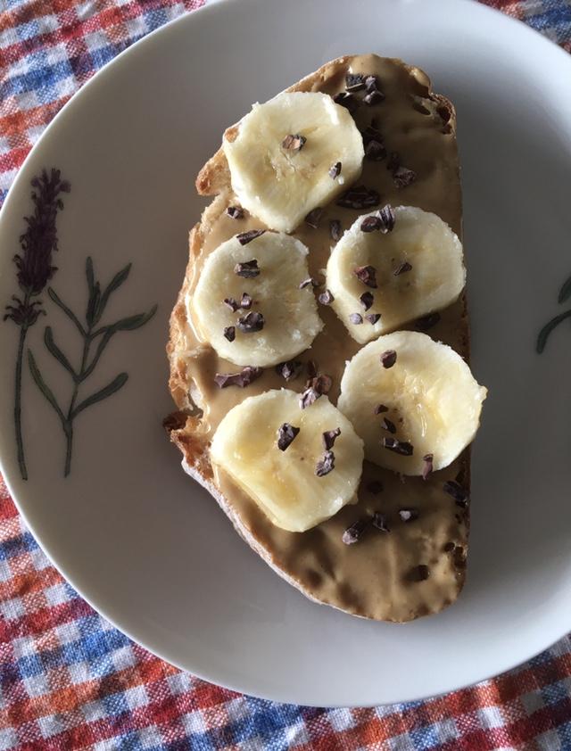 Una idea saludable para el desayuno o merienda